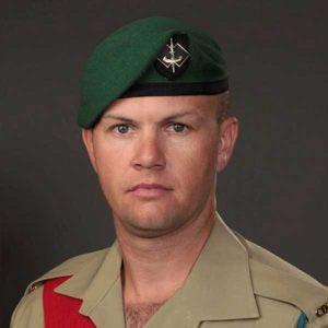 Sergeant Brett Wood MG DSM