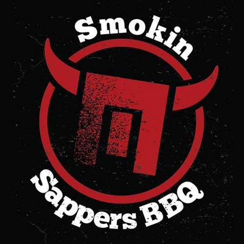 Smokin Sappers BBQ logo