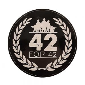 42 for 42 - Stickers