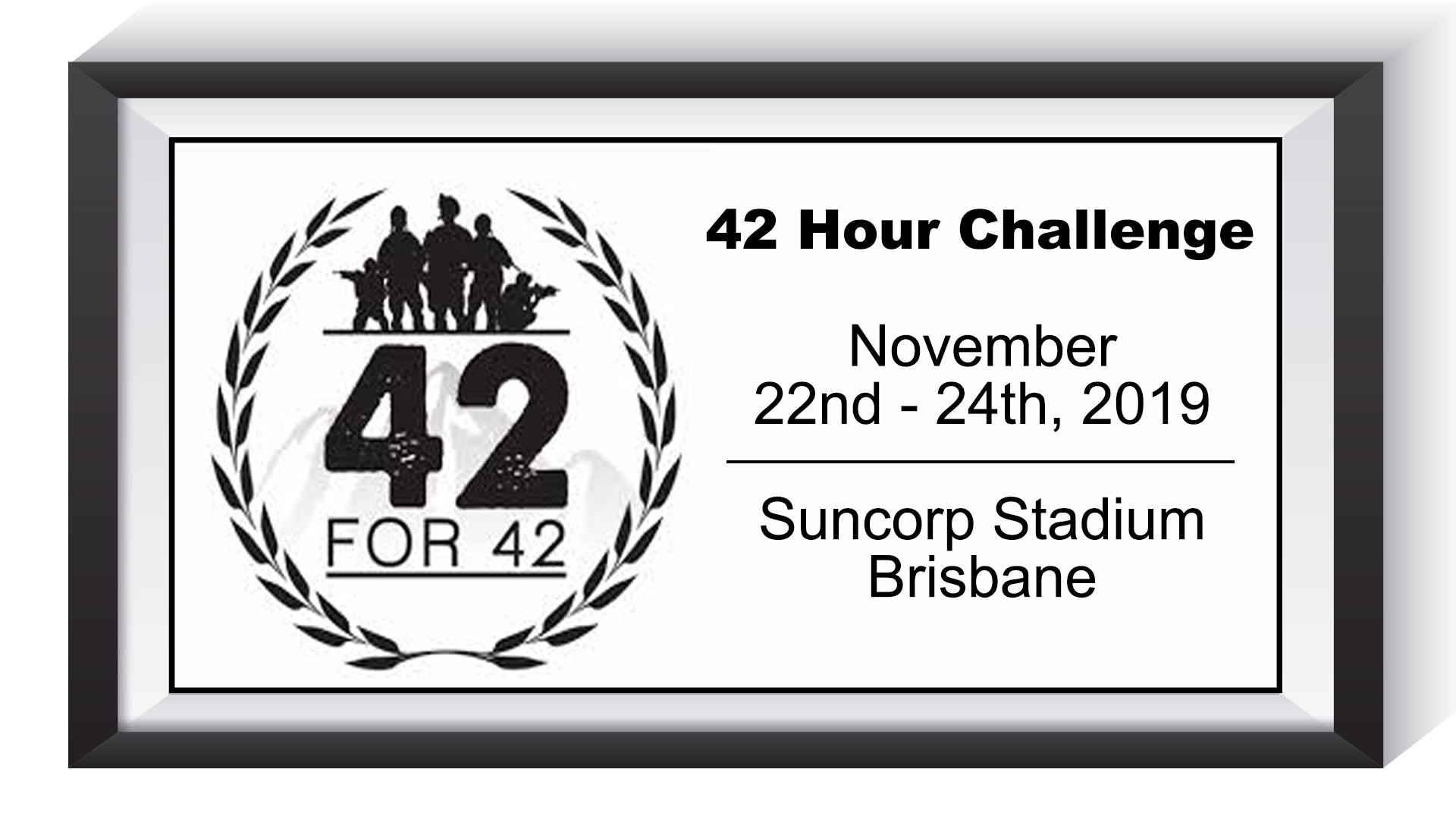 4th Annual 42 Hour Challenge