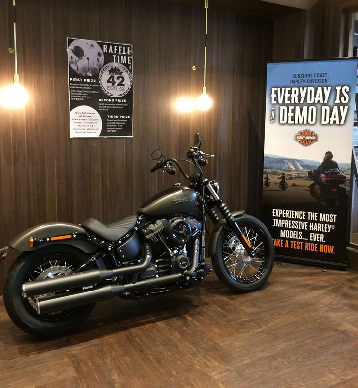42 for 42 - Harley Davidson Raffle