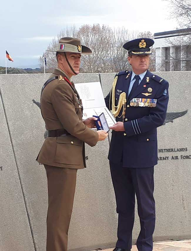 Brigadier John Carey CSC