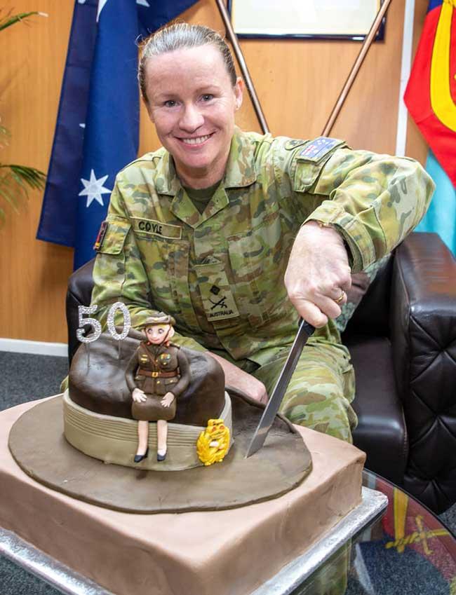 Major General Susan Coyle