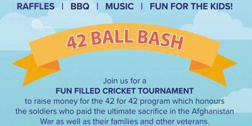 3rd Annual 42 Ball Bash