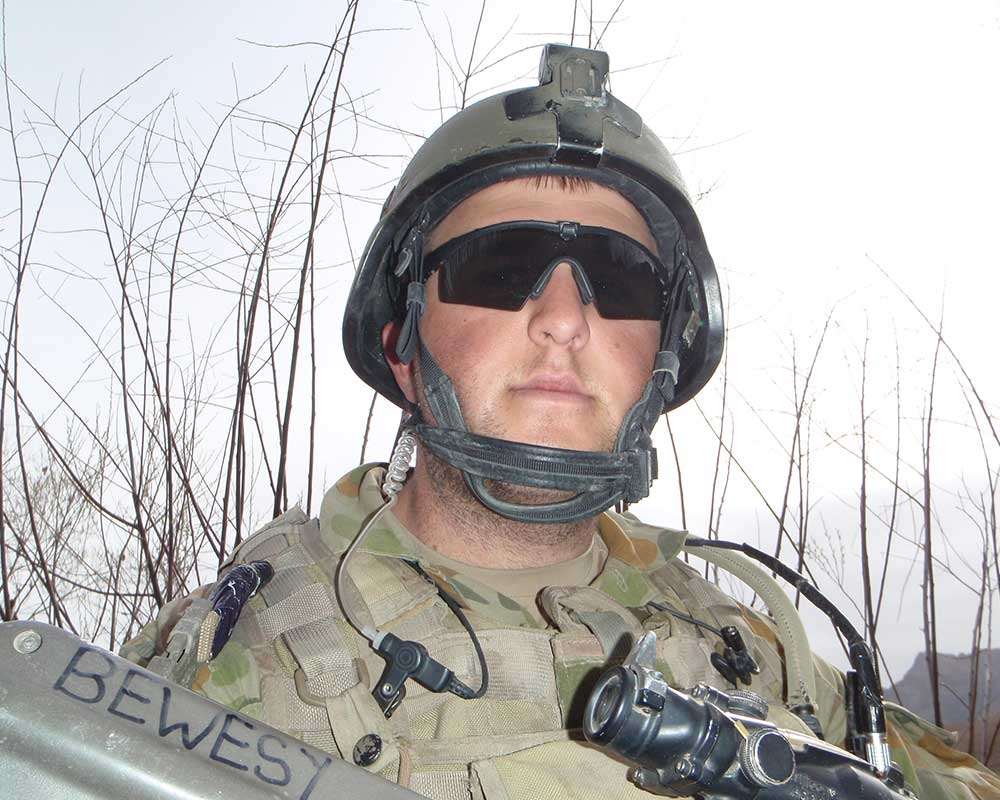 Private Nathan Bewes